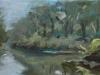 2016 peellandschap 1 oil on canvas 15 x 40 cm
