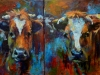 2014 Pinken acrylverf 2 luik 50 x 60 (Small)